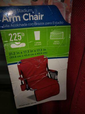 Two stadium chairs