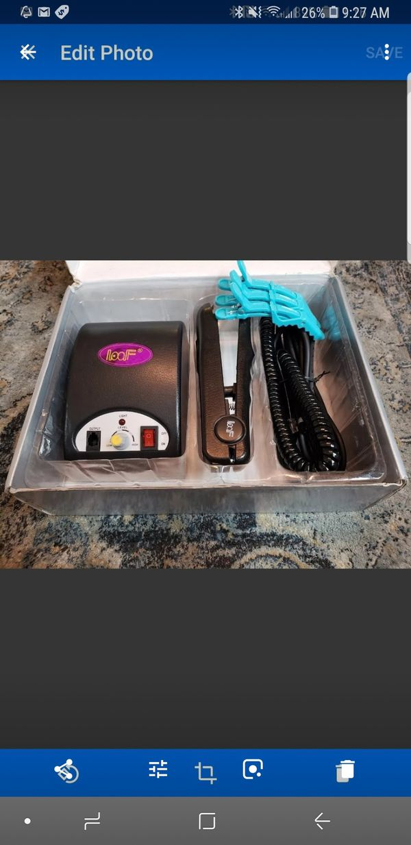 Cold Fusion Ultrasonic Hair Extension Installation Machine Beauty