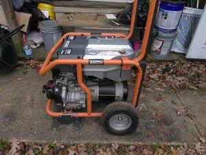 Ridgid generator used 3 time 8500 Watt