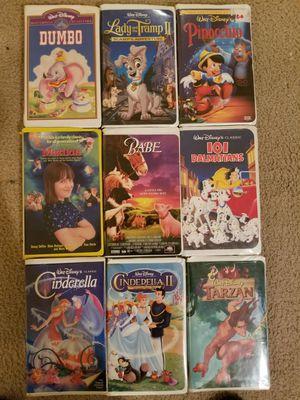 Walt Disney original VHS