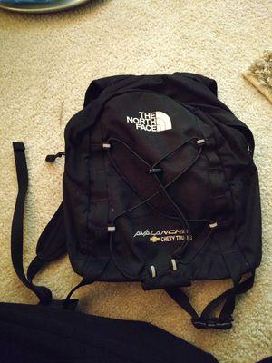 Black North Face Mini Book bag