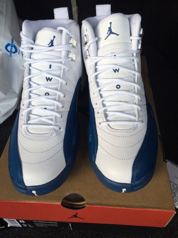 Jordan 12 French Blue Size 8 ( Clothing & Shoes ) in Santa Clara ...