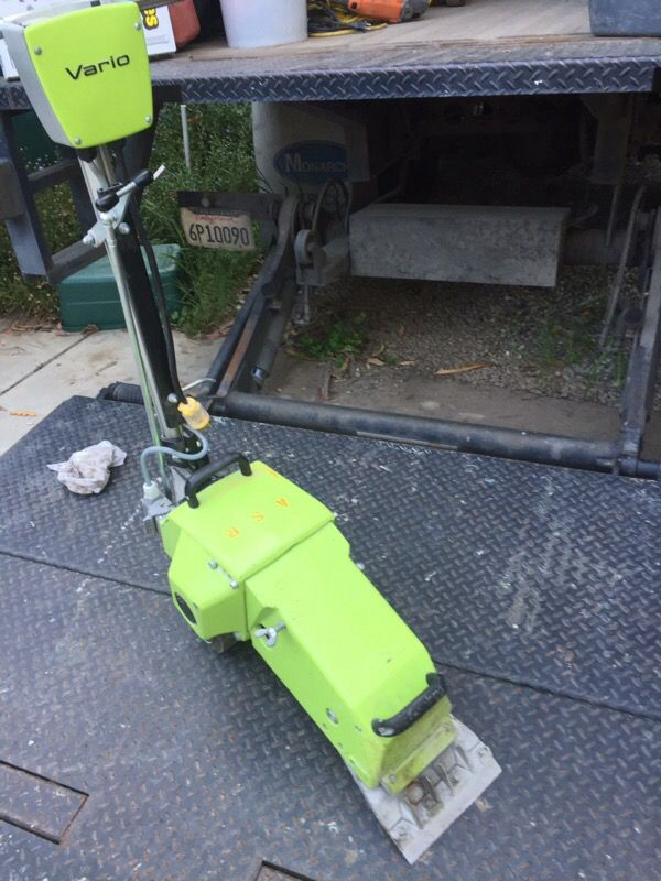 Wolff Vario Power Floor Scrapers Tools Machinery In Watsonville - Wolff floor scraper