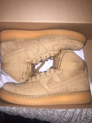 Air Force 1 wheats